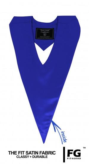Honor V-Stole royal blue