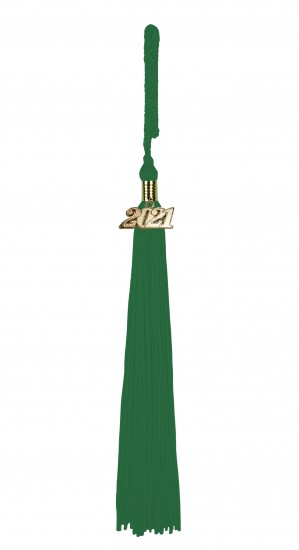 Tassel emerald-green