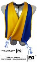 Academic Hood in blue-yellow
