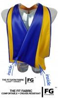 Academic Hood in yellow-blue