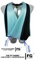 Academic Hood in black-light blue