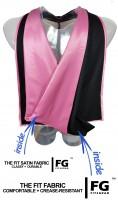 Academic Hood in black-pink