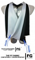 Academic Hood in black-white