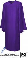 Gown, SHINY, purple