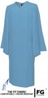 Gown, MATTE, sky-blue