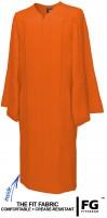 Gown, MATTE, orange