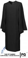 Gown, MATTE, black