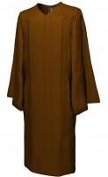 Gown, MATTE, brown