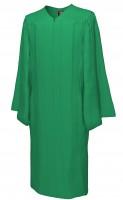 Gown, MATTE, emerald-green
