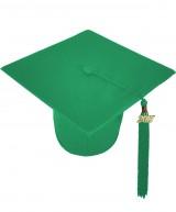 Cap, MATTE, one-size, emerald-green