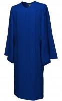 Gown, MATTE, navy-blue