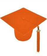 Cap, MATTE, one-size, orange