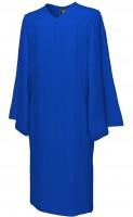 Gown, MATTE, royal-blue