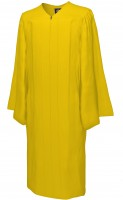 Gown, MATTE, yellow-gold
