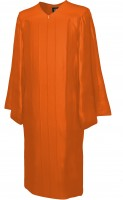 Gown, SHINY, orange