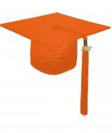 Cap, SHINY, one-size, orange