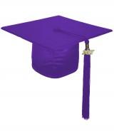 Cap, SHINY, one-size, purple